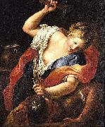 Gregorio Lazzarini Jael and Sisera oil painting reproduction
