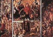 Hans Memling The Last Judgment oil painting reproduction