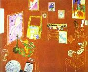 Henri Matisse L Atelier Rouge oil painting reproduction
