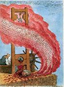 James Gillray The Blood of the Murdered Crying for Vengeance oil painting reproduction