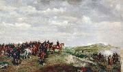 Jean-Louis-Ernest Meissonier Napoleon III at the Battle of Solferino oil painting
