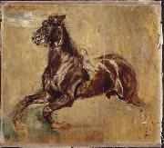 Jean-Louis-Ernest Meissonier Study of a horse oil painting