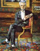 Paul Cezanne Victor oil painting reproduction