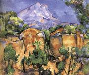 Paul Cezanne Victor St. Hill 6 oil painting reproduction