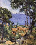 Paul Cezanne seaside scenery oil painting reproduction