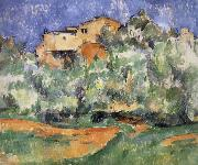 Paul Cezanne house oil painting reproduction