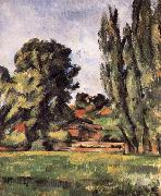 Paul Cezanne landscape has Baiyang oil painting reproduction
