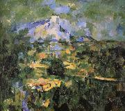 Paul Cezanne Victor St. Hill oil painting reproduction