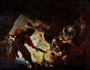 REMBRANDT Harmenszoon van Rijn The Blinding of Samson, oil painting reproduction