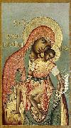 Simon Ushakov Our Lady of Eleus, oil painting