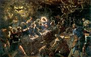 Tintoretto The Last Supper oil painting reproduction