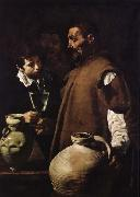 Velasquez Those who sell water oil painting