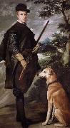Velasquez Hunting De accepts Crown Prince Cady oil painting reproduction