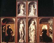 WEYDEN, Rogier van der The Last Judgment Polyptych oil painting reproduction
