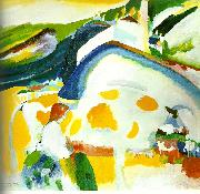 Wassily Kandinsky the cow. oil painting reproduction