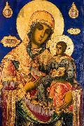 Zahari Zograf Mary with the young Jesus, oil painting