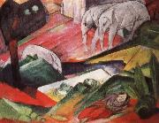 arnold schoenberg art the dream by franz marc t oil painting