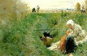 Anders Zorn vart dagliga brod oil painting reproduction