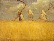 Anna Ancher hostarberjdere oil painting reproduction