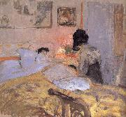Edouard Vuillard Nail Beautification Division oil painting reproduction