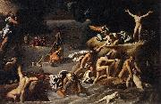 Agostino Carracci Flood oil painting