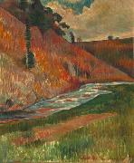 Charles Laval The Aven Stream oil painting