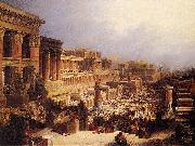 David Roberts The Israelites Leaving Egypt oil painting reproduction