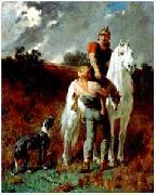 Evariste Vital Luminais Gaulois revenant de la chasse oil painting reproduction