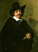 Frans Hals mansportratt oil painting reproduction