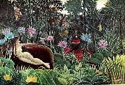 Henri Rousseau Yadwighas drom oil painting reproduction