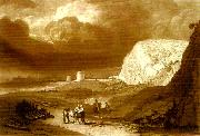 J.M.W.Turner martello towers near bexhill sussex oil painting reproduction