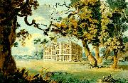 J.M.W.Turner radley hall from the south east oil painting reproduction