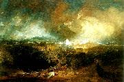 J.M.W.Turner the fifth plague of egypt oil painting reproduction