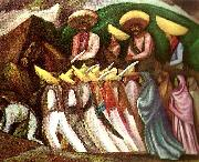 Jose Clemente Orozco zapatistas oil painting reproduction