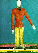 Kazimir Malevich peasant oil painting