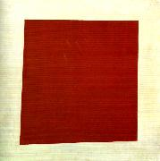 Kazimir Malevich red square oil painting