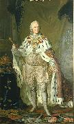 Lorens Pasch the Younger Portrait of Adolf Frederick, King of Sweden (1710-1771) in coronation robes oil painting