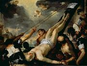 Luca Giordano Crucifixion of St Peter oil painting