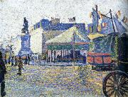 Paul Signac place clichy oil painting reproduction