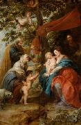 Peter Paul Rubens Holy Family under the Apple Tree oil painting reproduction
