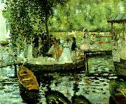 Pierre Auguste Renoir la grenouillere oil painting reproduction