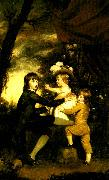 Sir Joshua Reynolds the lamb children oil painting reproduction