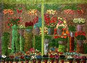 andre bauchant i blommornas land oil painting reproduction