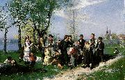 august malmstrom vava vadmal oil painting reproduction