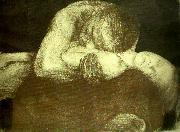 kathe kollwitz pieta oil painting reproduction