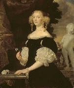 Abraham van den Tempel Portrait of a Woman oil painting