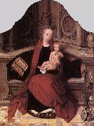Adriaen Isenbrant Virgin and Child Enthroned oil painting