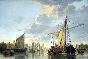 Aelbert Cuyp Hafen von Dordrecht oil painting reproduction