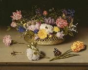 Ambrosius Bosschaert Flower Still Life oil painting