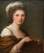 Angelica Kauffmann Self portrait oil painting reproduction